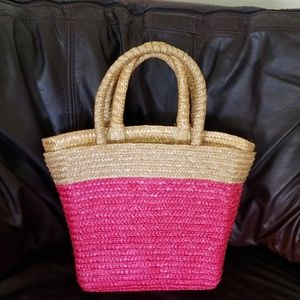 Wicker spring bag 2 for 1